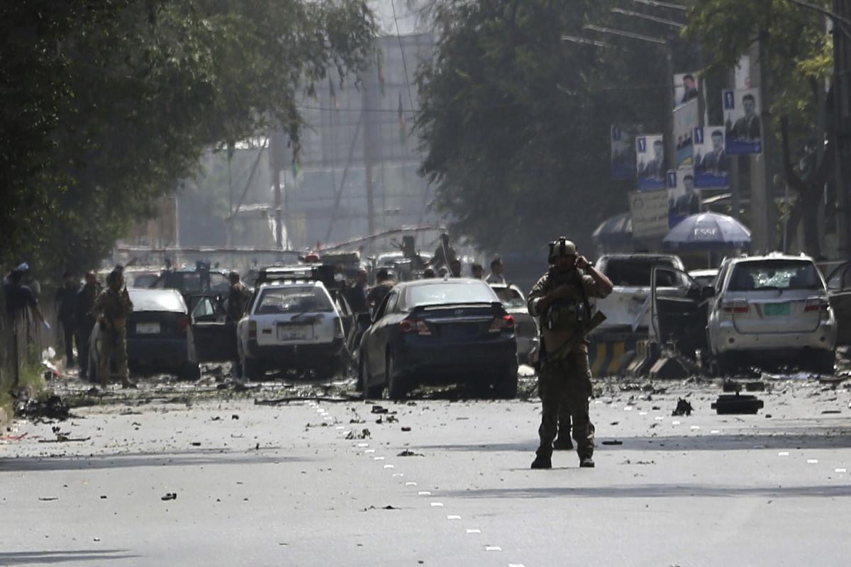 Vehicle bomb kills 4, wounds 28 in N. Afghanistan
