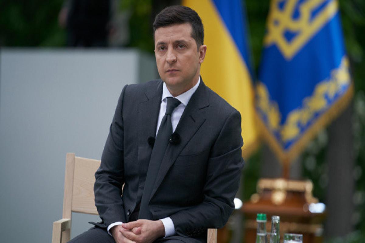 Zelenski Ukrayna və Rusiya arasında baş verə biləcək eskalasiyanın dəqiq tarixini açıqlayıb