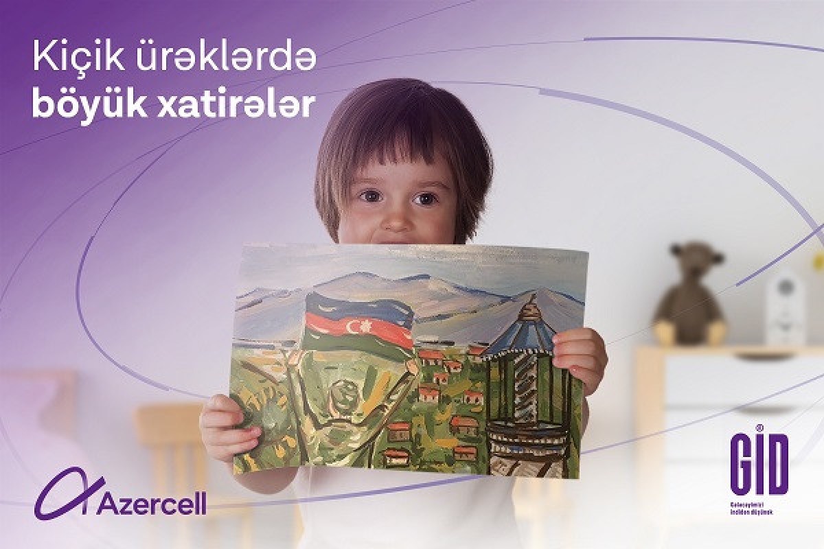 Azercell held a social project for the children of martyrs on the occasion of  June 1, International Children