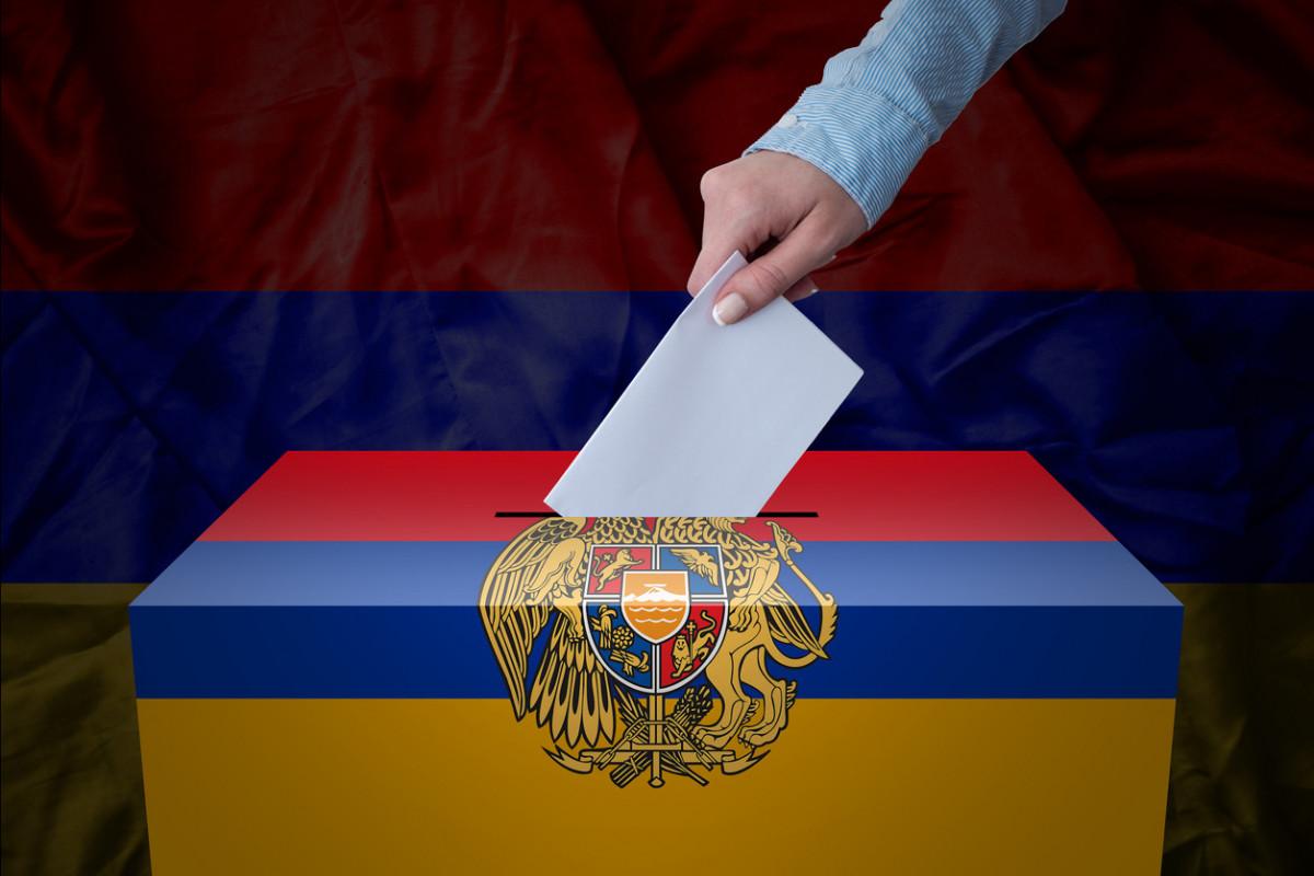 Ermənistanda parlament seçkilərində iştirak edəcək partiya və blokların sayı açıqlanıb