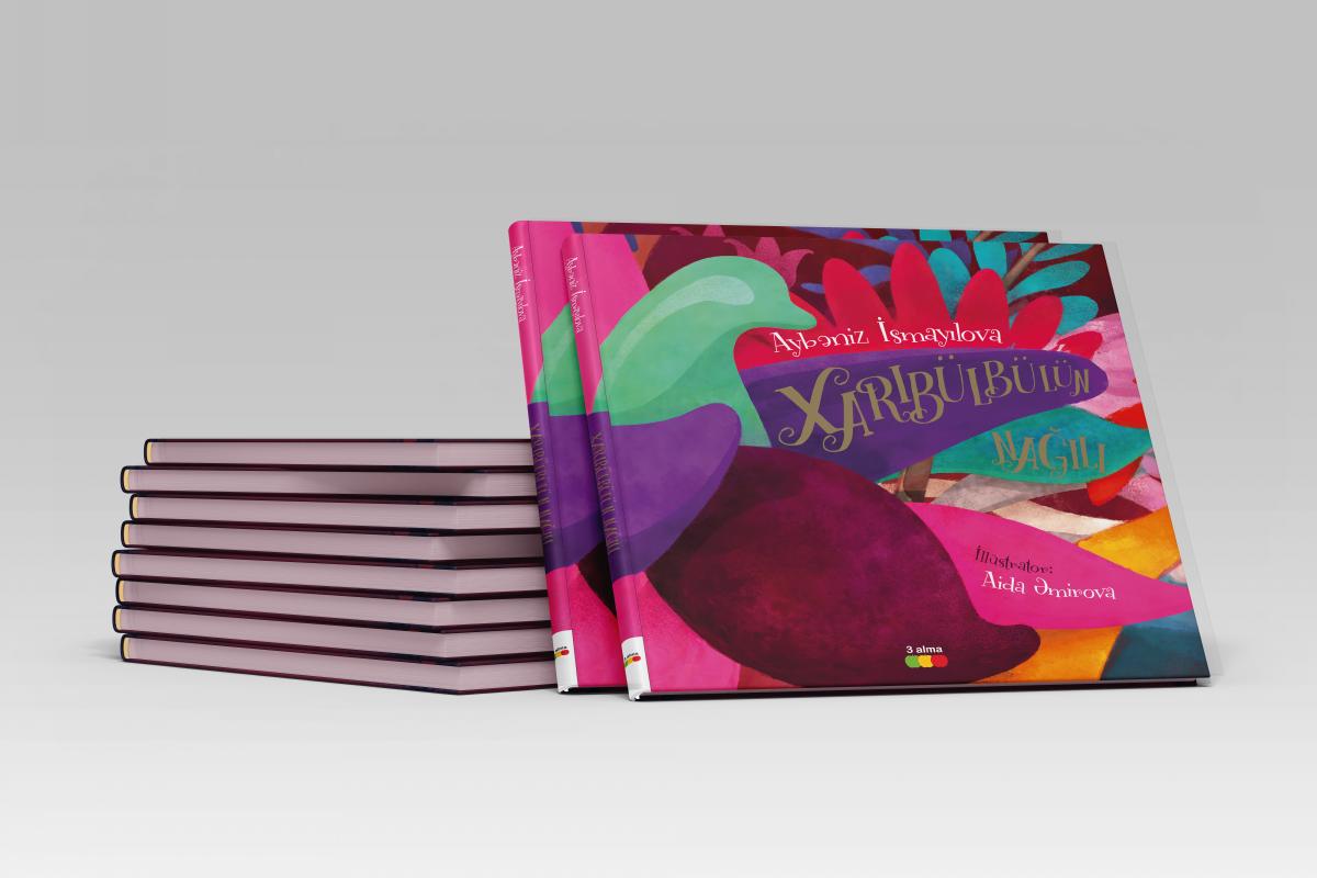 Издательский дом TEAS выпустил книгу «Сказка Харыбюльбюль»