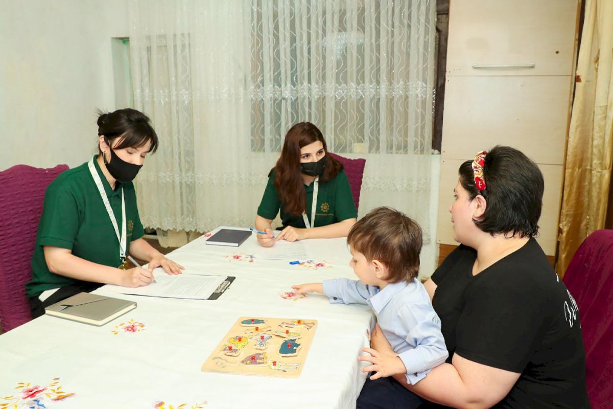 Sağlamlıq imkanları məhdud uşaqların səyyar reabilitasiyasına başlanılıb