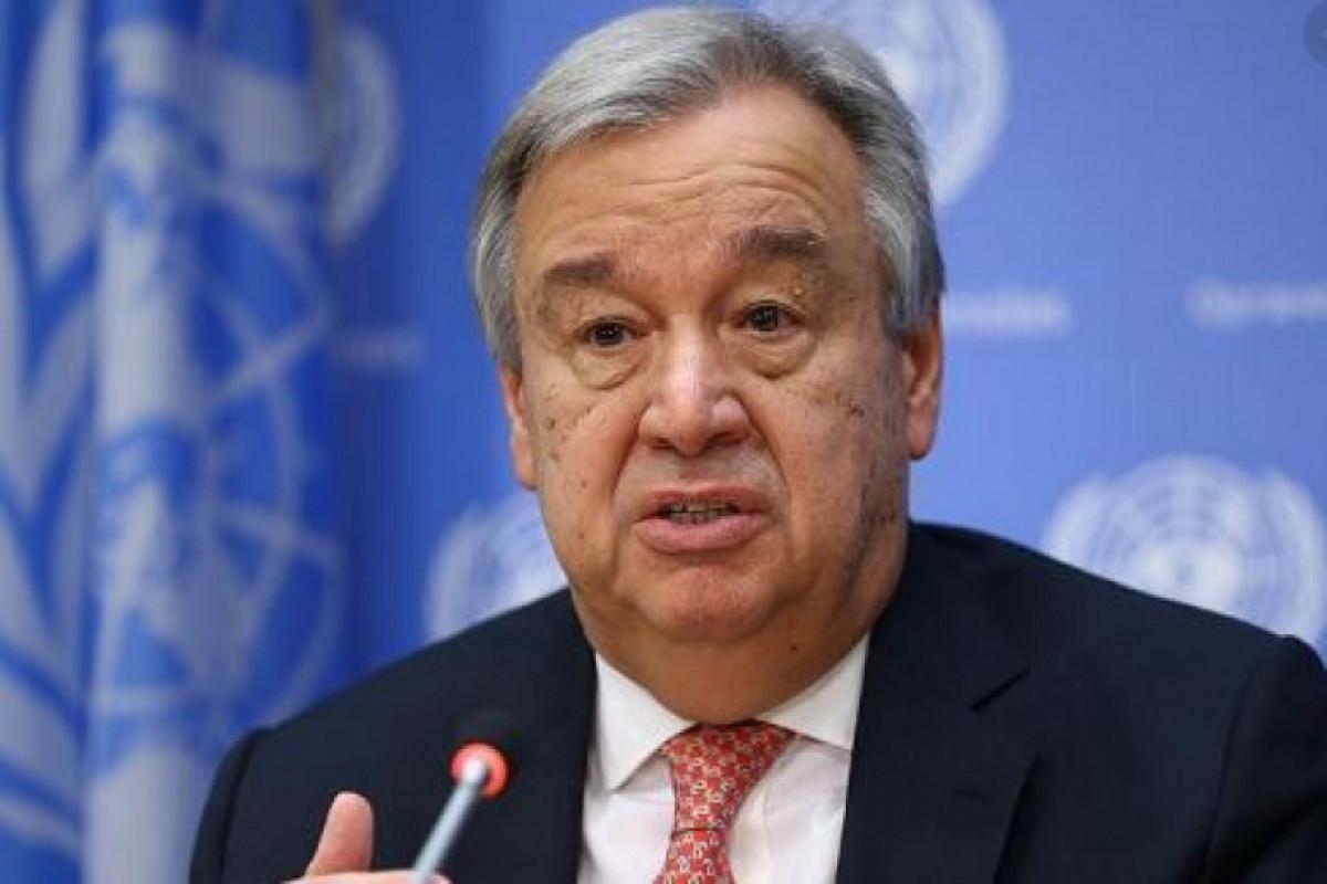 UN Secretary-General sends congratulatory letter to Azerbaijani President