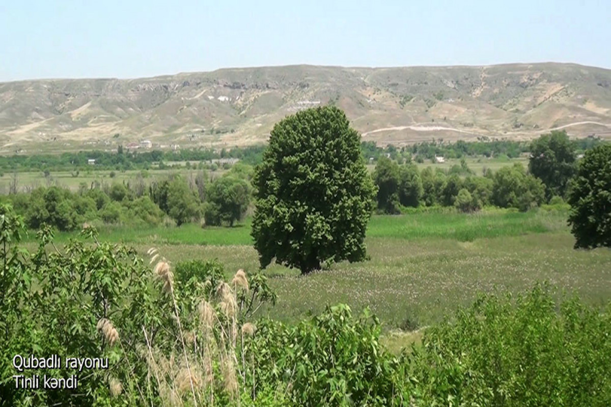 """Azerbaijani Defence Ministry disseminates video footage of the Tinli village of the Gubadli region -<span class=""""red_color"""">VIDEO"""