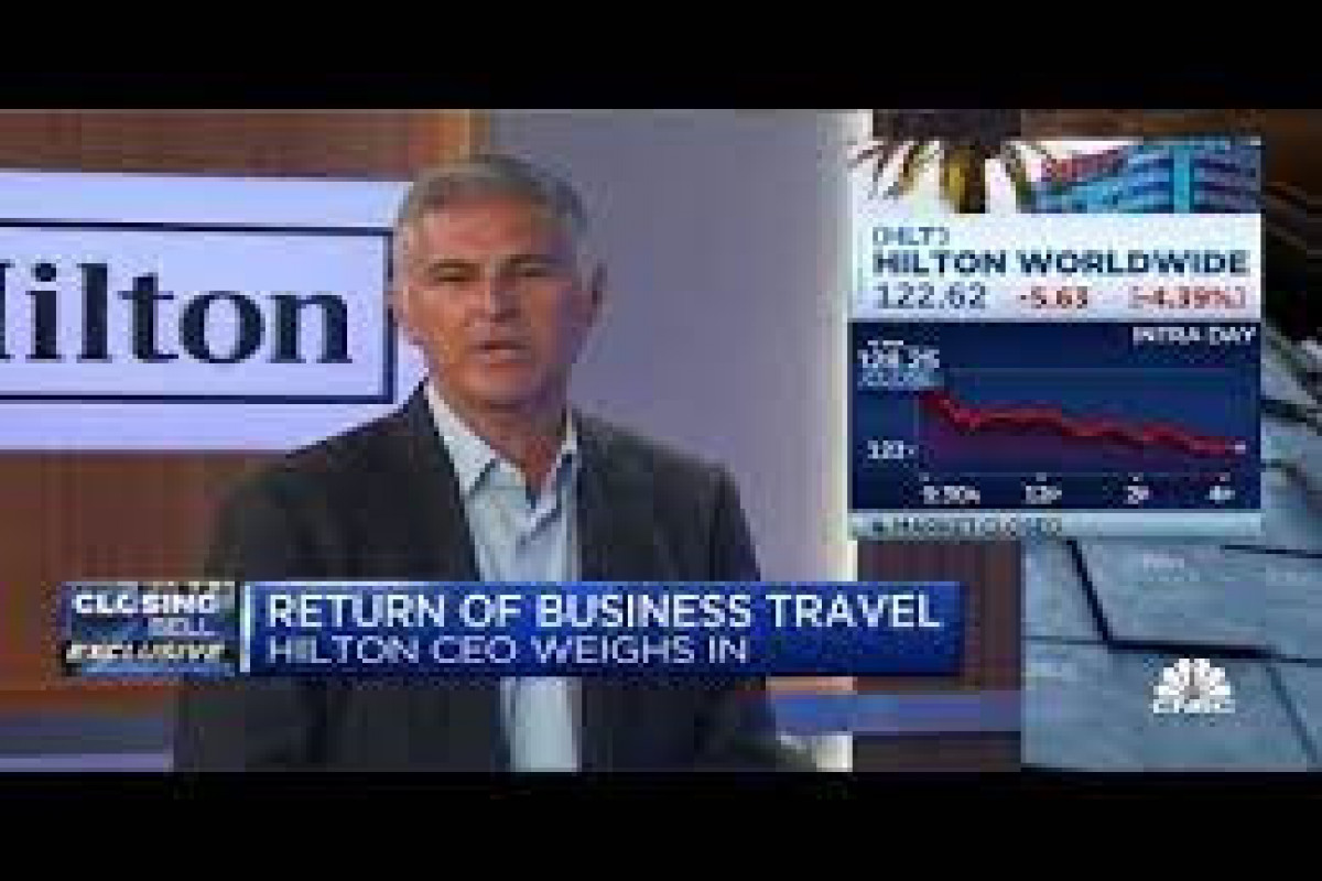Travel bookings bounce back as Hilton has best night since pandemic hit