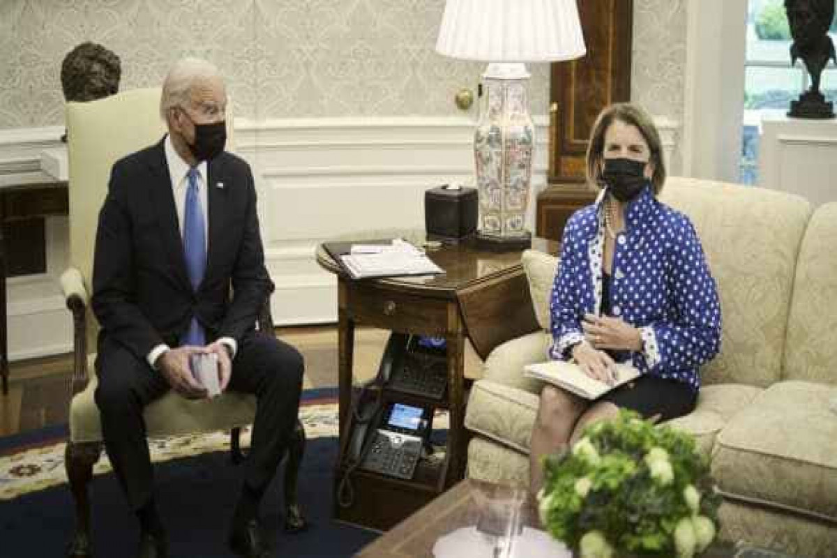 Biden to resume infrastructure talks with key Republican Capito on Wednesday