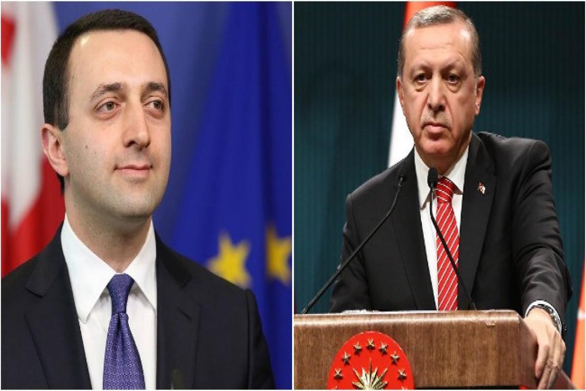 Erdogan receives Georgian PM