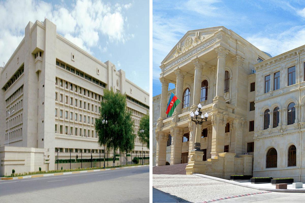 Завершилось предварительное следствие по уголовному делу членов армянских вооруженных группировок, совершивших террор и провокации на территории Азербайджана