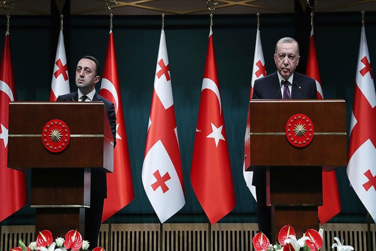 Turkey attaches great importance to trilateral cooperation with Georgia and Azerbaijan, Erdogan says
