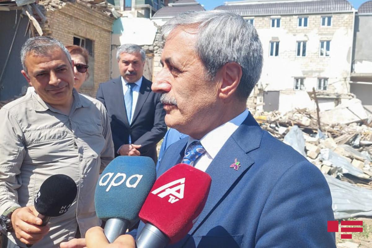 "Prosecutor General of Supreme Court of Turkey: ""We witness the results of Armenian terror in Ganja"""