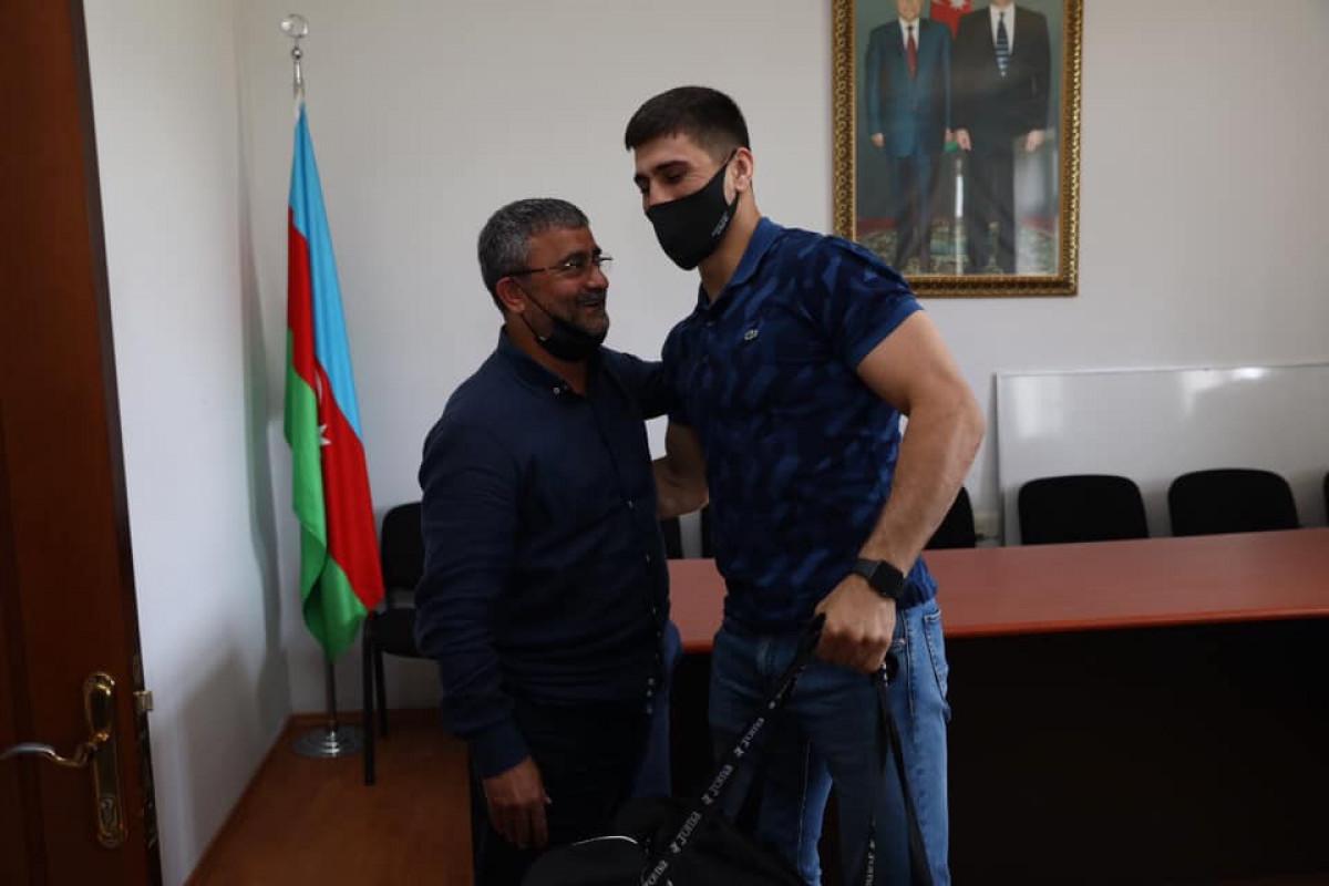 Cüdo üzrə Azərbaycan millilərinin yeni formaları təqdim olunub- FOTOSESSİYA