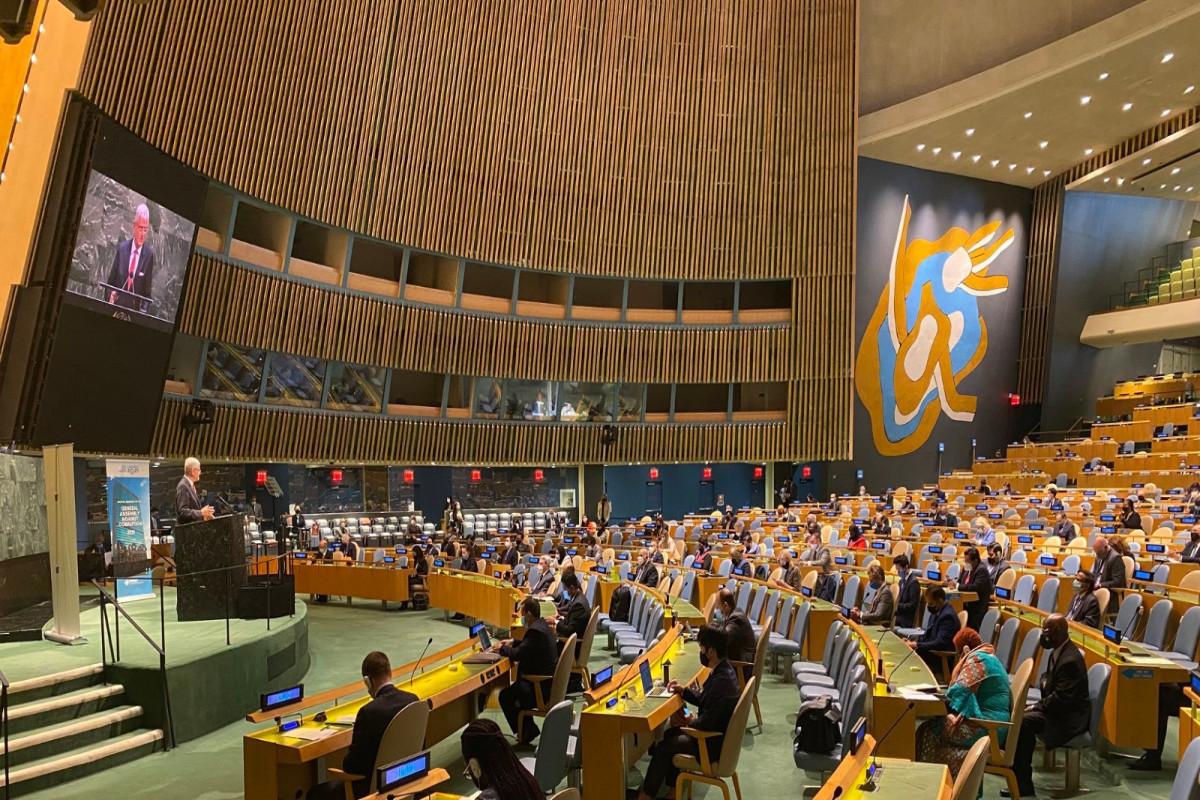 Генпрокурор Азербайджана принимает участие в внеочередном заседании Генассамблеи ООН