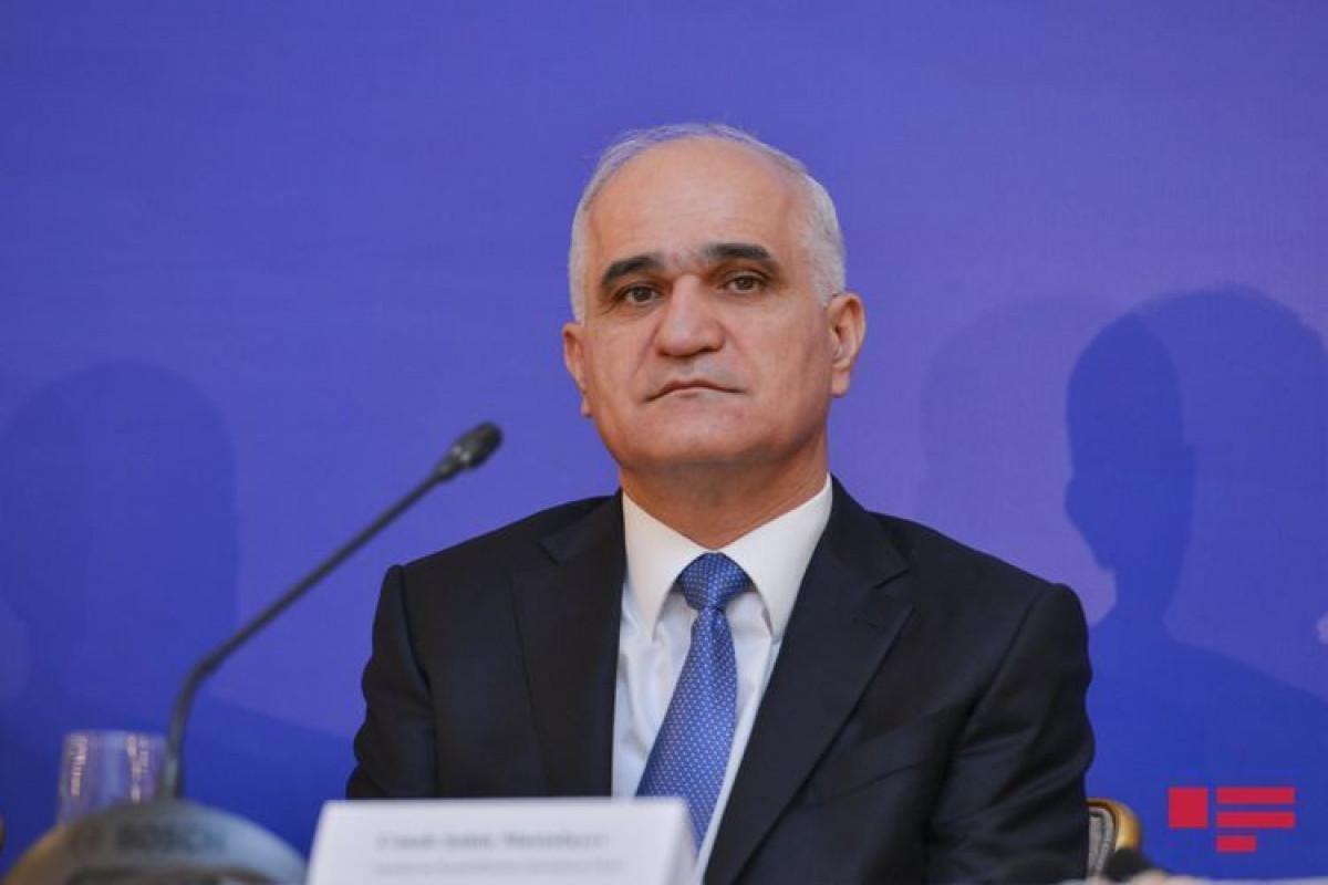 Азербайджанская делегация принимает участие в Петербургском международном экономическом форуме