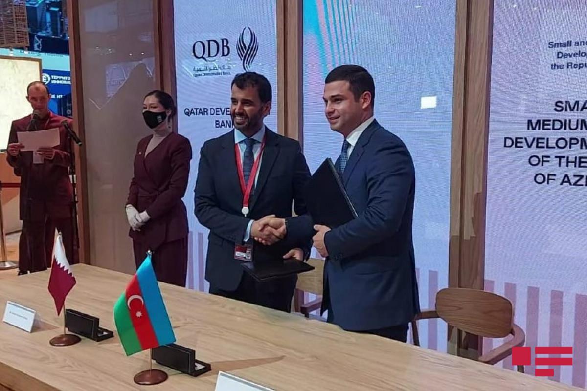 KOBİA və Qətərin İnkişaf Bankı arasında memorandum imzalanıb