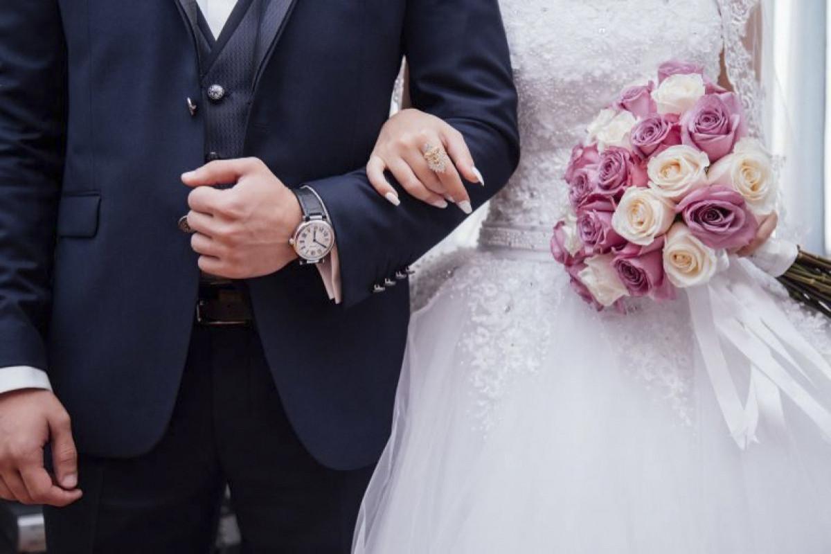 Azərbaycanda bu ilin I rübündə qeydə alınan nikahların sayı açıqlanıb