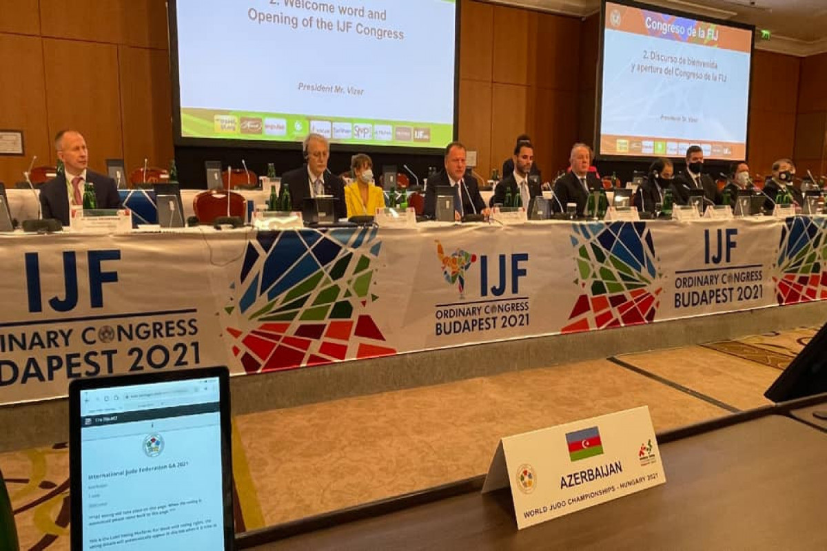 Ровнаг Абдуллаев избран членом Исполкома Международной федерации дзюдо