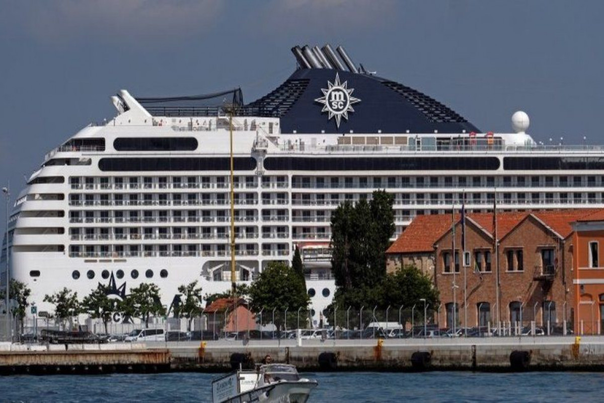 First cruise ship arrives in Venice since pandemic began