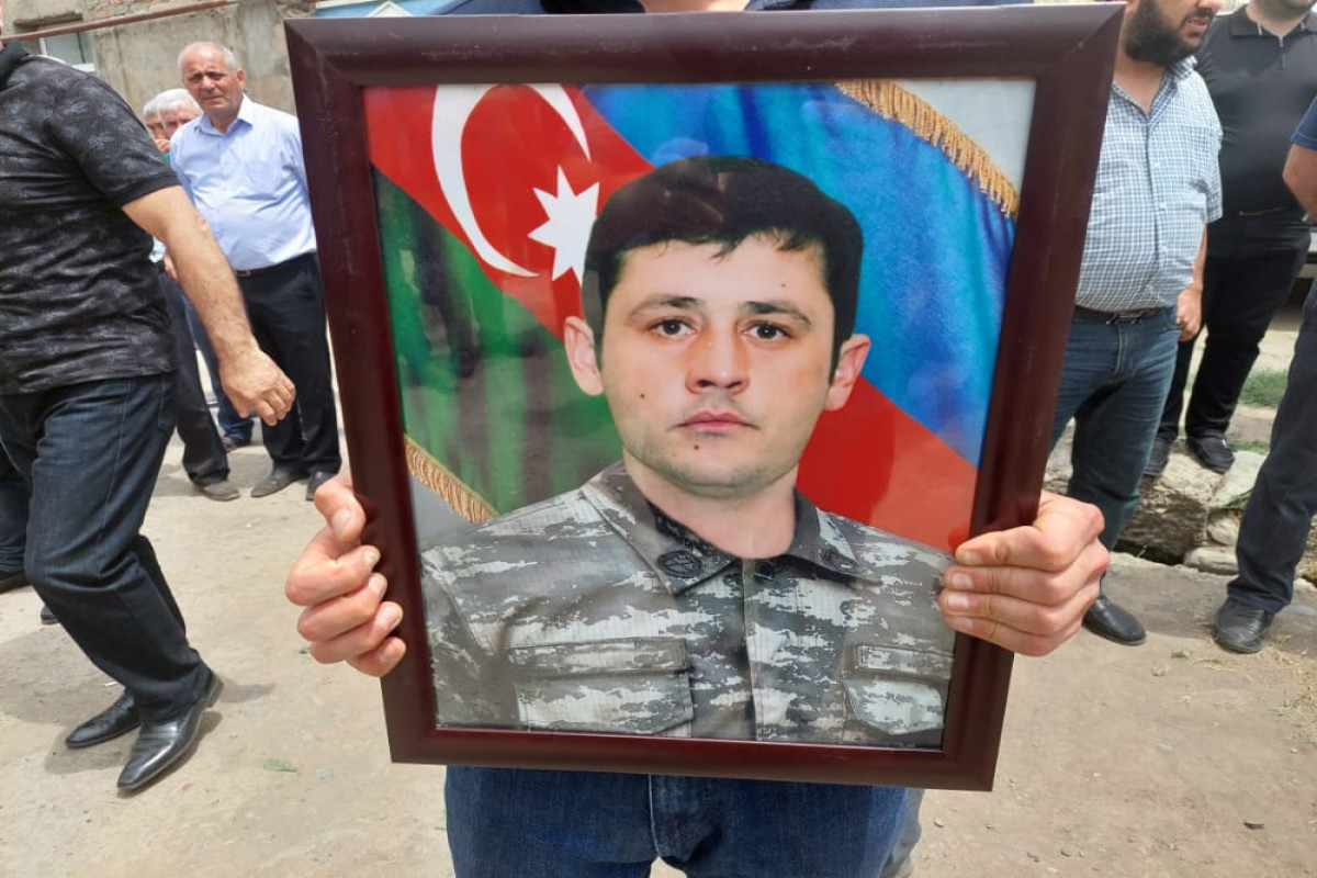 "Martyr of Patriotic war buried in Ganja-<span class=""red_color"">UPDATED"