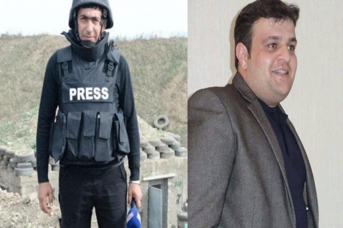 """MEDİA, """"Azərtac"""" və AzTV jurnalistlərin minaya düşərək həlak olması ilə bağlı məlumat yayıb"""