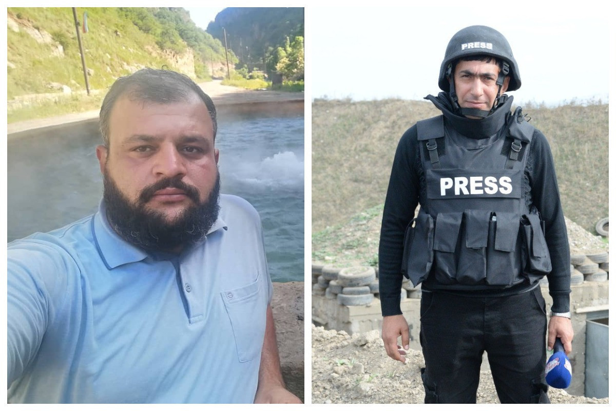 Media Development Agencydisseminates information about journalists of Azertag and AzTV who stepped on mine and died