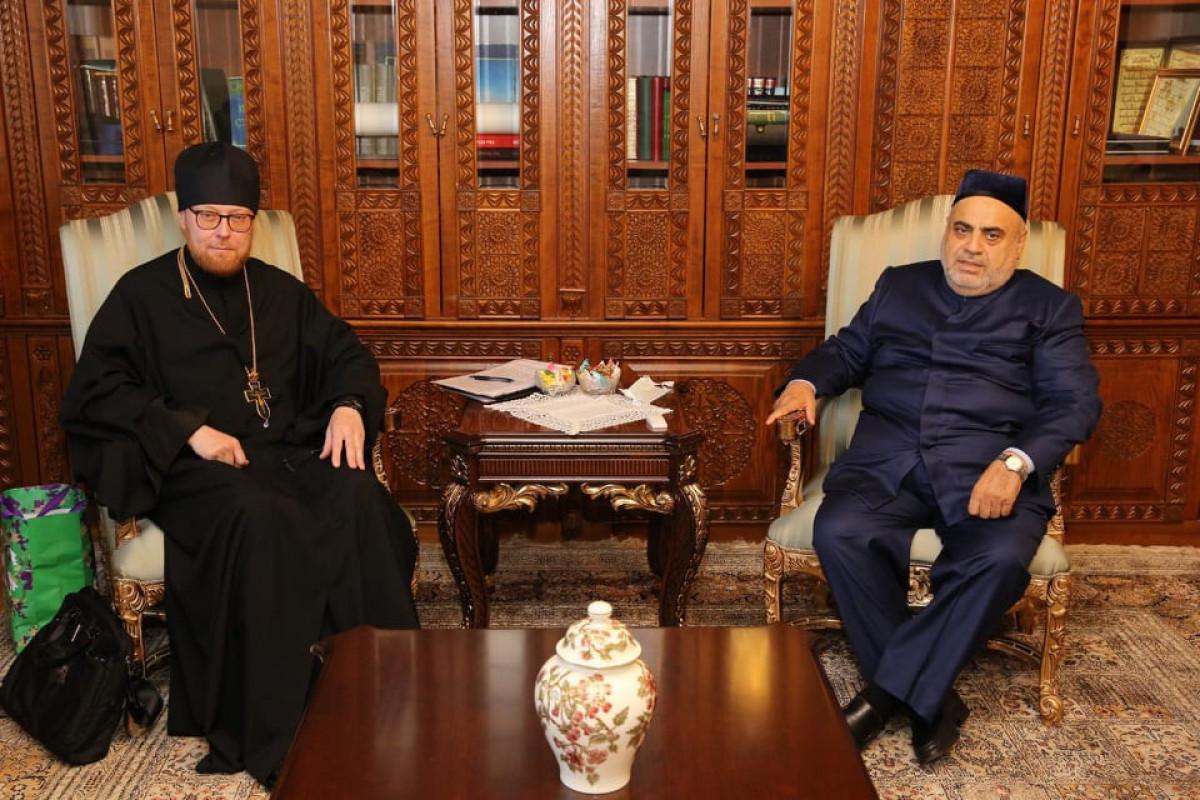 Председатель УМК обсудил с представителем Патриарха Кирилла восстановление религиозных храмов на освобожденных территориях