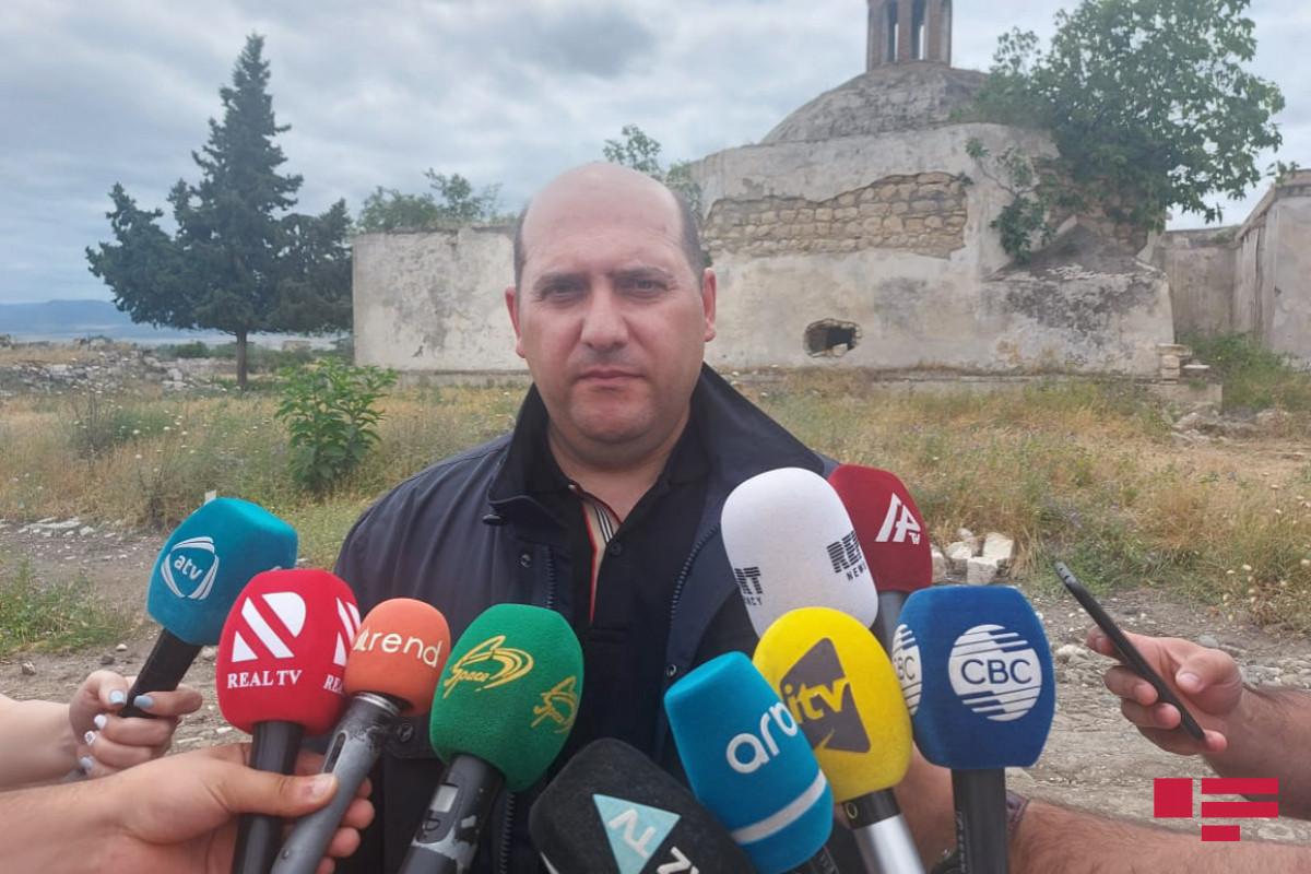 Эмин Гусейнов: На освобожденных от оккупации территориях восстановительные работы проводятся координированно