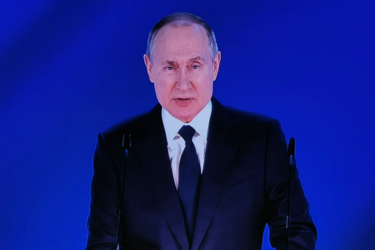 """Putin: """"Construction of first line of the Nord Stream-2 gas pipeline is completed"""""""