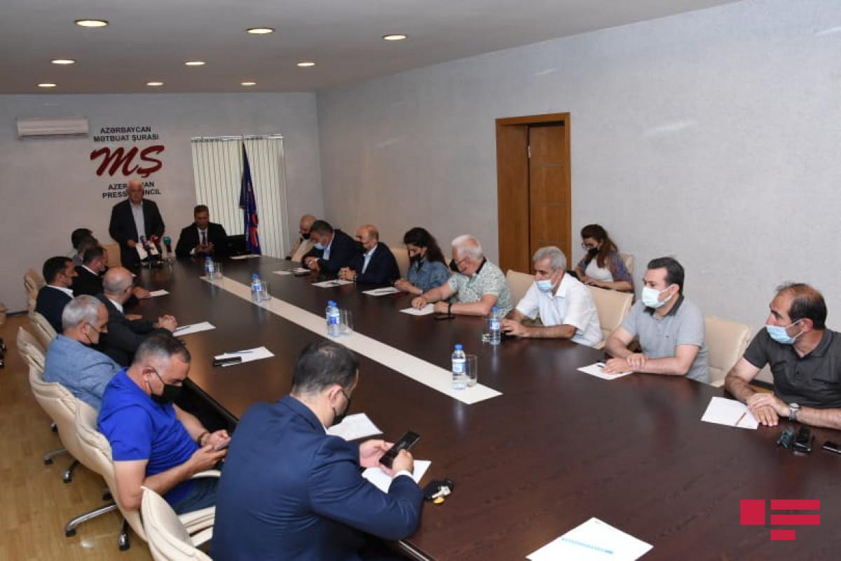 Azerbaijan Press Council addresses to int