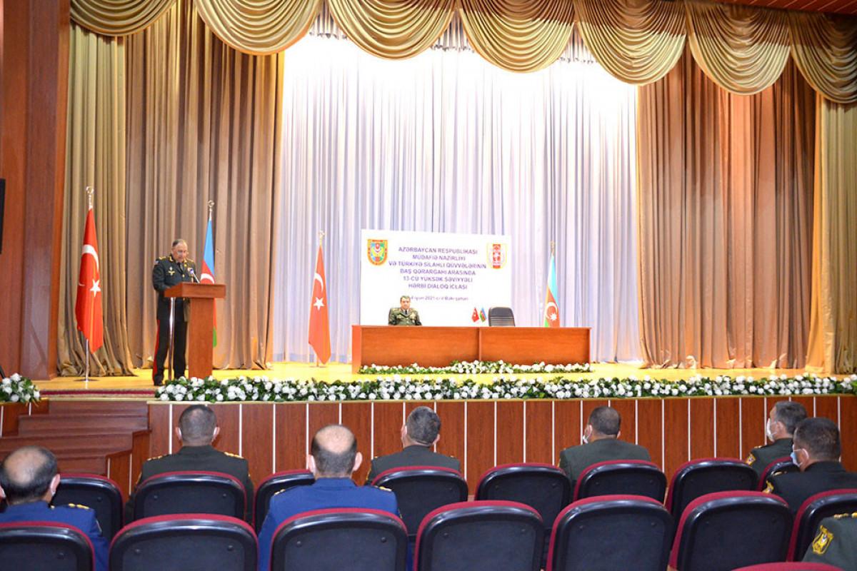 Azerbaijani MoD: Meeting of the Azerbaijani-Turkish High-Level Military Dialogue ended