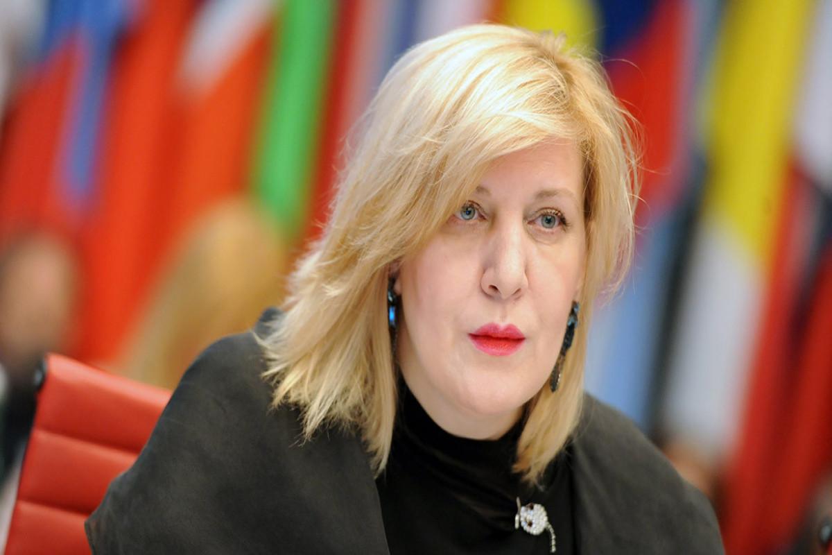 Dunja Mijatovic notes urgent need to demine liberated territories of Azerbaijan