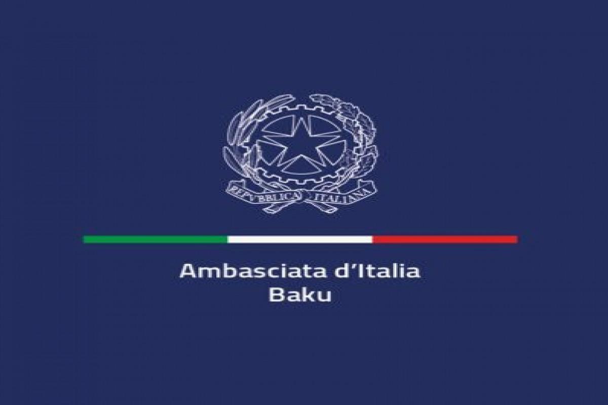 Italian embassy extended its condolences regarding the death of Azerbaijani media representatives in landmine explosion