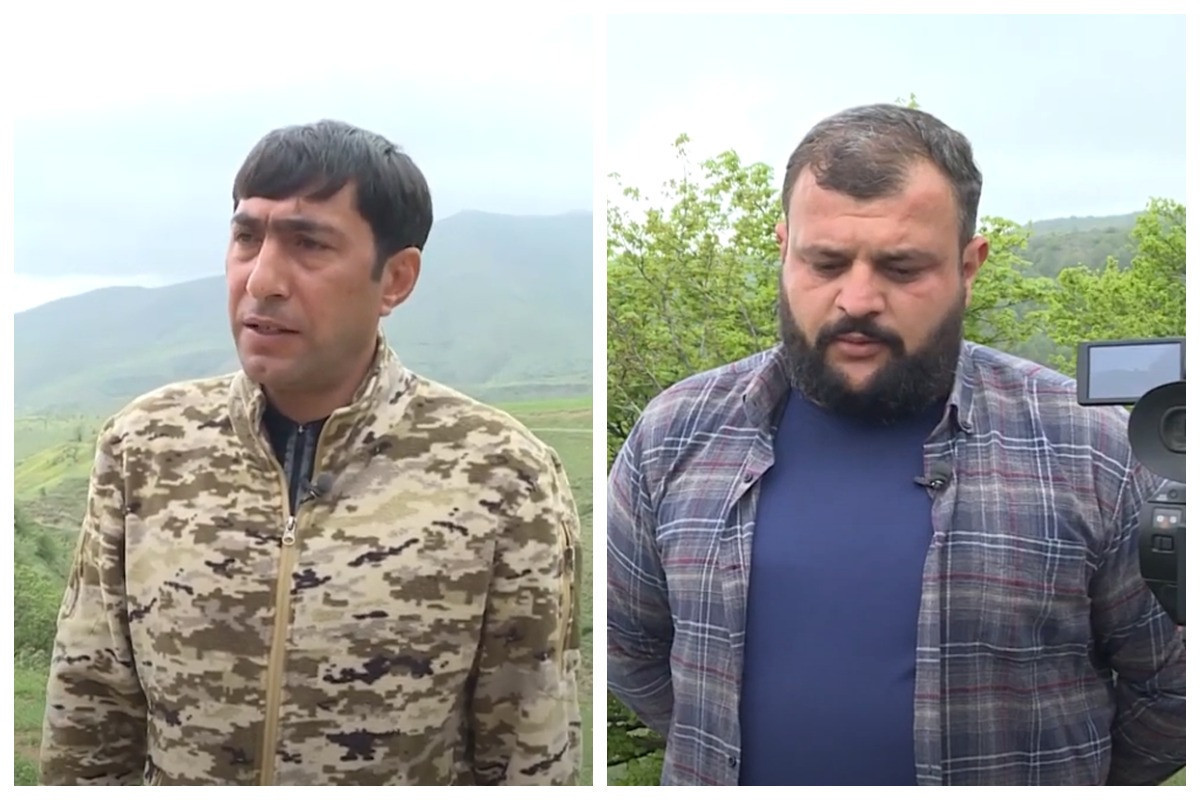 """<span class=""""red_color"""">VIDEO REPORTAGE from the liberated areas prepared by media representatives who martyred as a result of a landmine explosion in Kalbajar"""