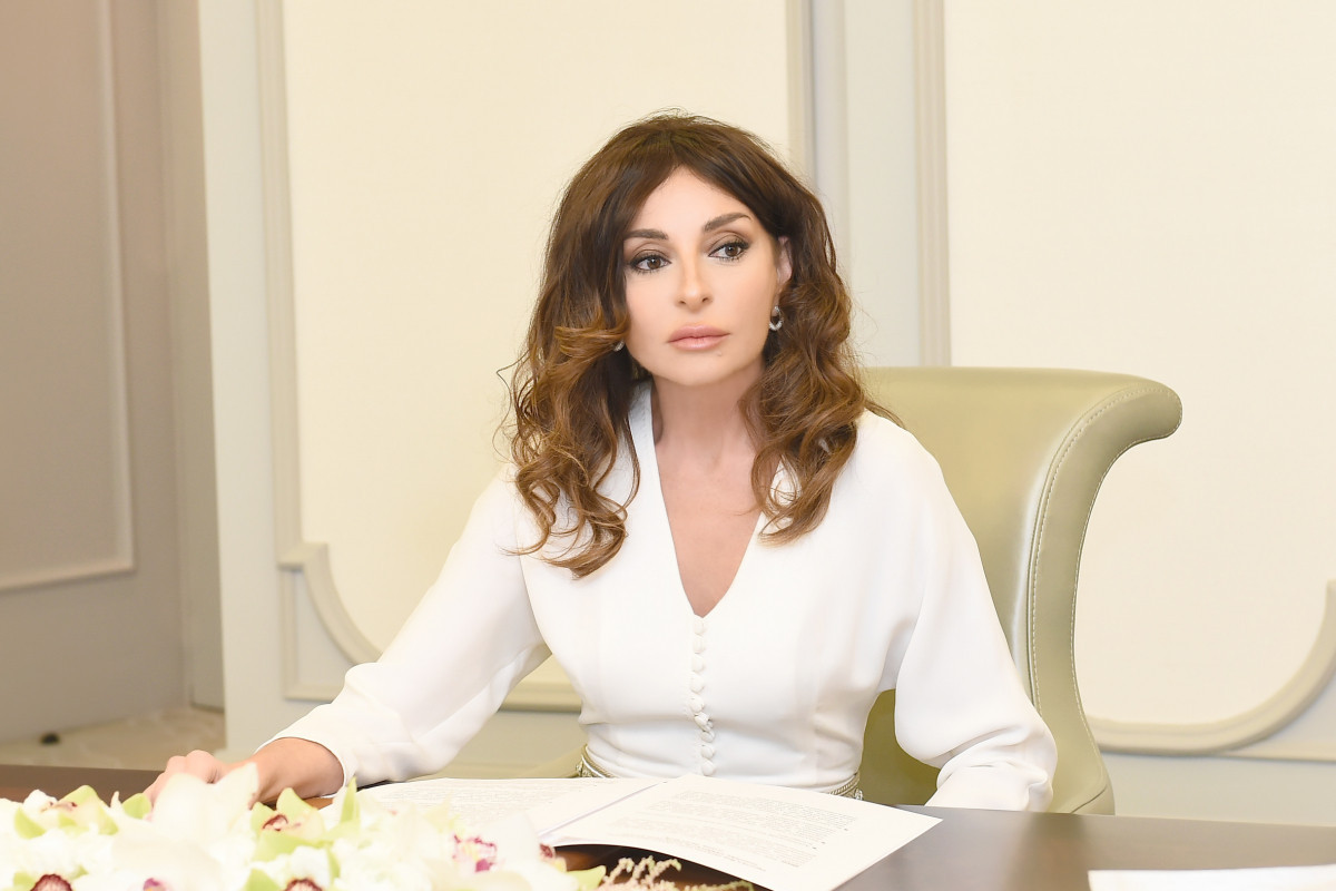 Mehriban Aliyeva shared a post about the death of civilians by landmines in Kalbajar