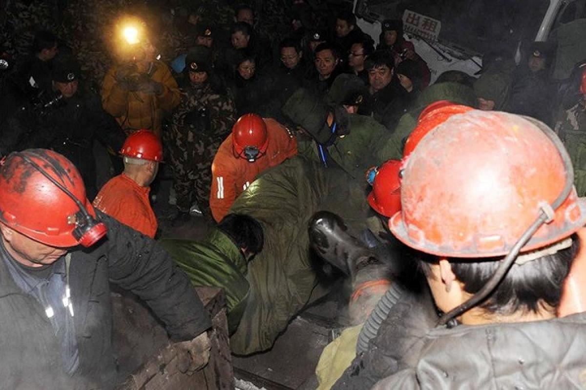 Çində kömür mədənində partlayış olub, ölən var