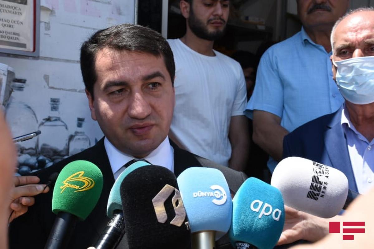 Помощник Президента Азербайджана: Мы ждем от международного сообщества не только соболезнования