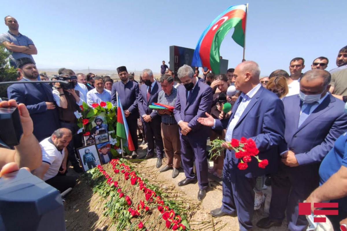 """Journalist Maharram Ibrahimov martyred as a result of mine explosion in Kalbajar buried-<span class=""""red_color"""">PHOTO-<span class=""""red_color"""">UPDATED"""