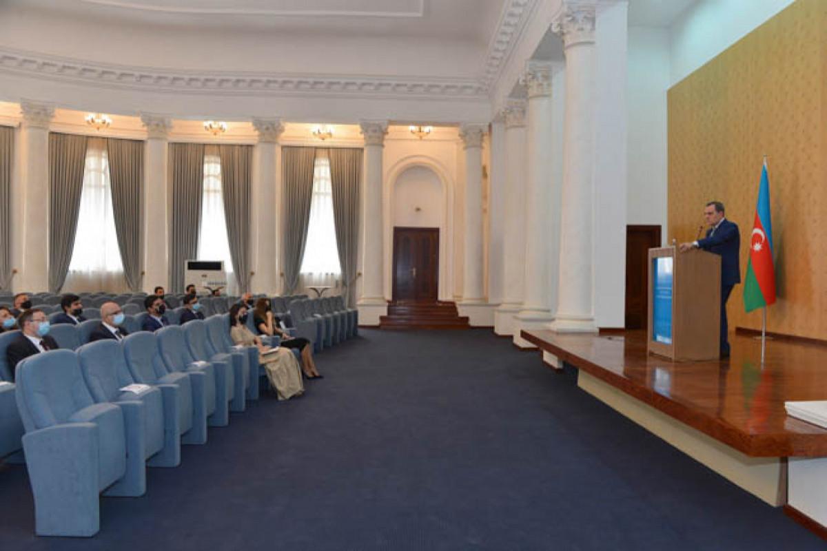 Jeyhun Bayramov met with diplomats sent abroad on a rotation basis