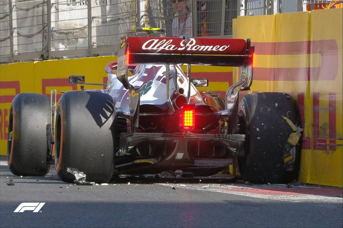"""""""Formula-1"""": Sıralama turu üçüncü dəfə dayandırılıb"""