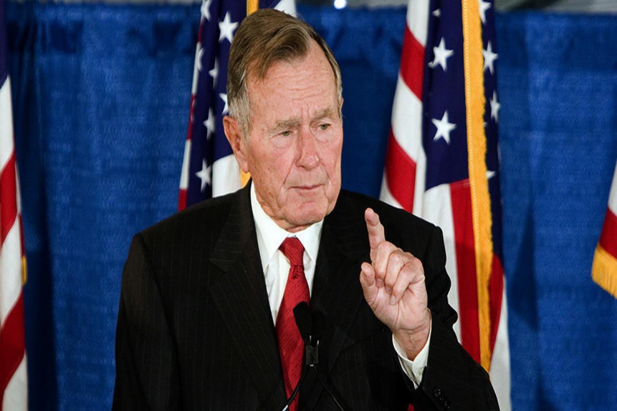 Фонд Буша получит 5 млн долларов от китайских лоббистов