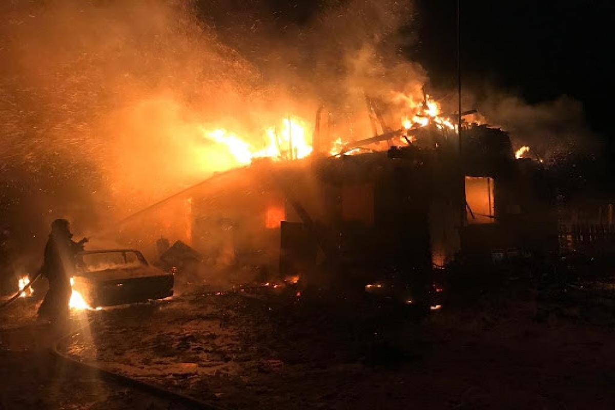 В Иркутской области РФ при пожаре погибли 3 человека