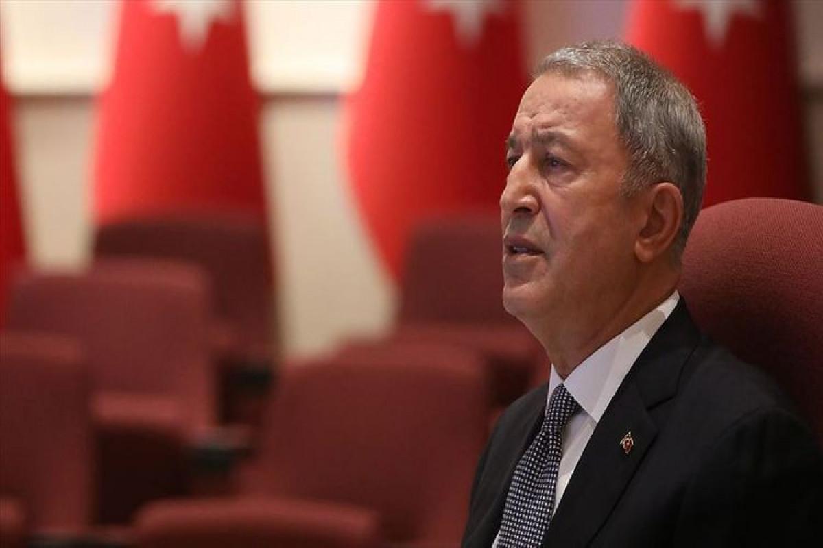 Хулуси Акар: Наша армия продолжает прикладывать максимум усилий для защиты мира в Турции, Азербайджане
