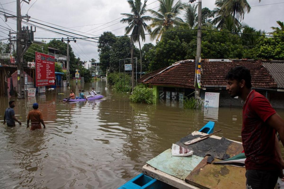 Şri Lankada daşqınlar nəticəsində 14 nəfər ölüb