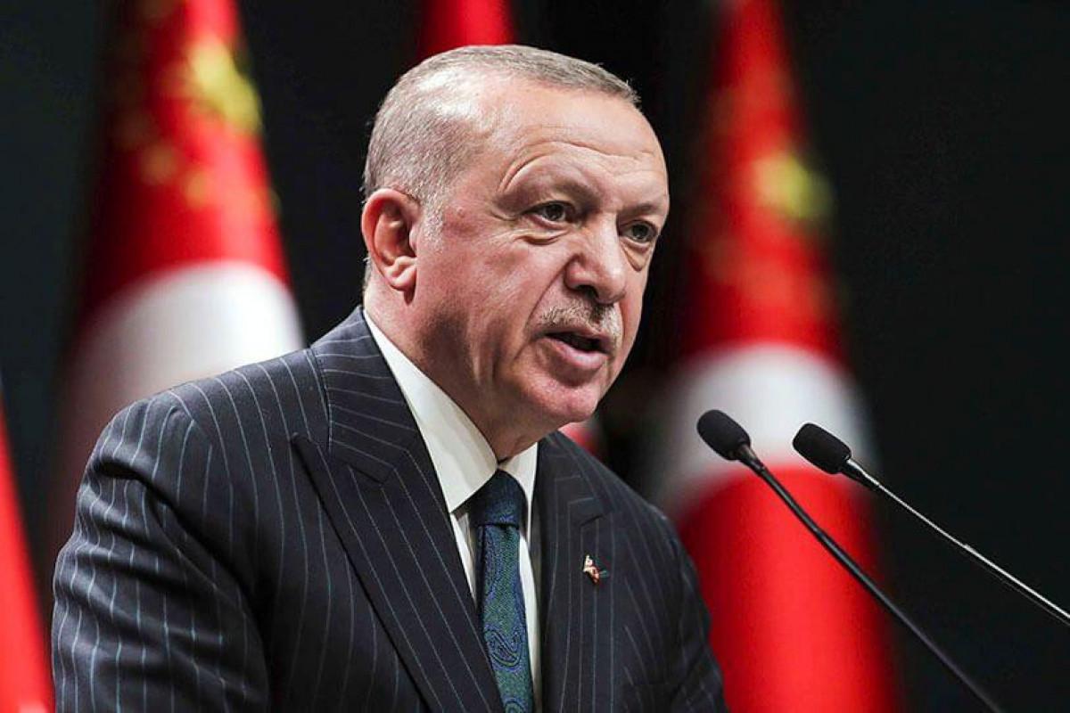 """Ərdoğan: """"PKK-nın """"başçı heyəti"""" Selman Bozkır MİT tərəfindən məhv edilib"""""""