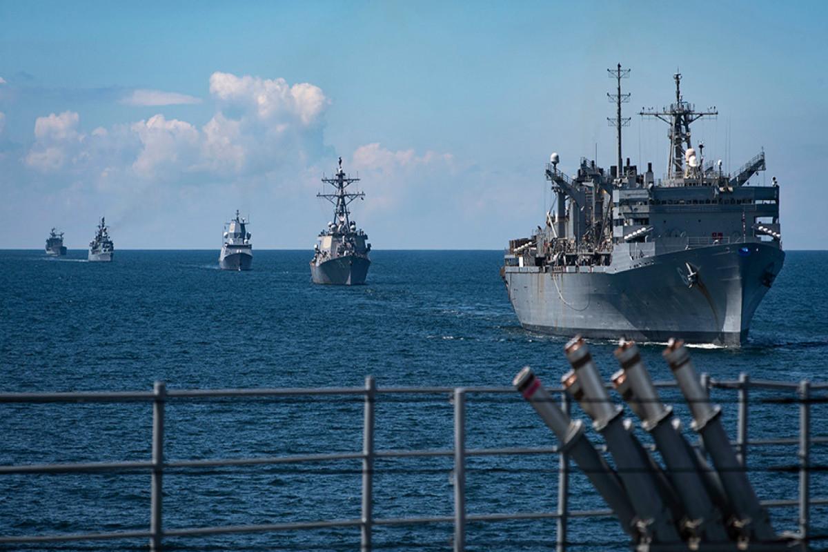 NATO Baltik dənizində Baltops təlimlərinə başlayıb