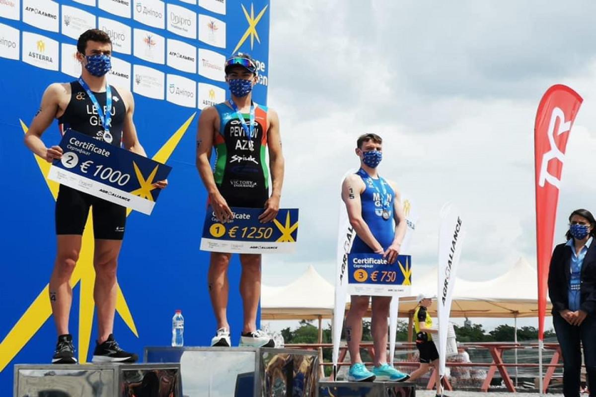 Azərbaycanın triatlonçusu Avropa Kubokunun qalibi olub