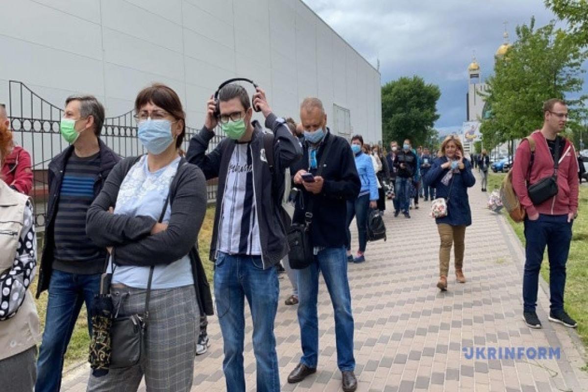 Ukraine reports 535 new coronavirus cases