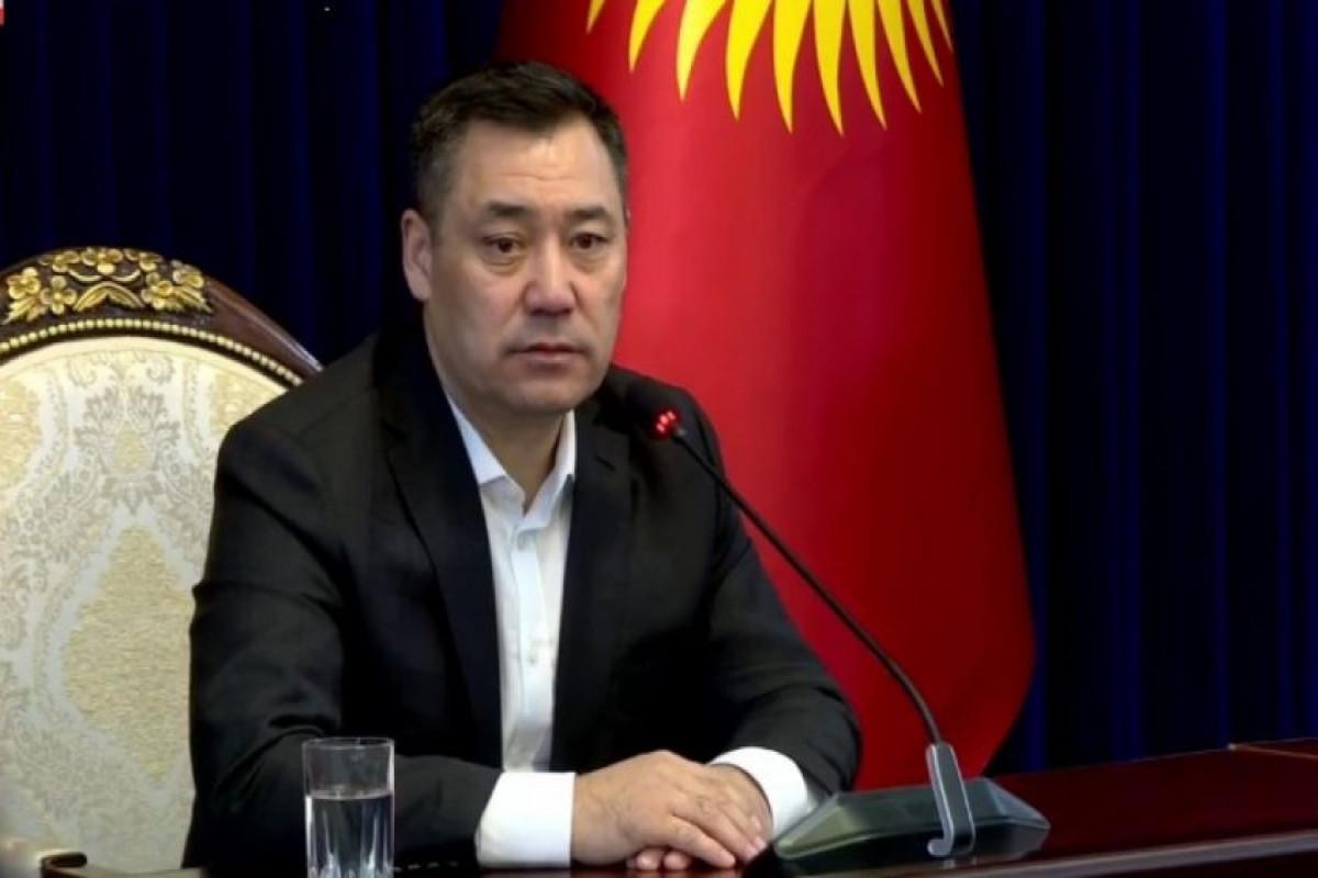 President of the Kyrgyz Republic congratulates President Ilham Aliyev
