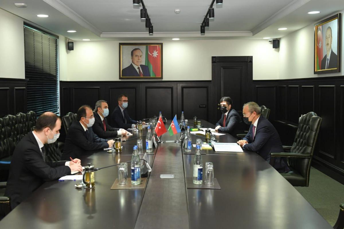 Azerbaijan and Turkey discussed increasing mutual trade