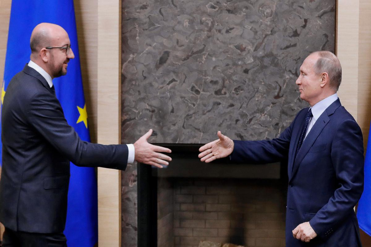 Путин обсудил с главой Евросовета ситуацию в Нагорном Карабахе