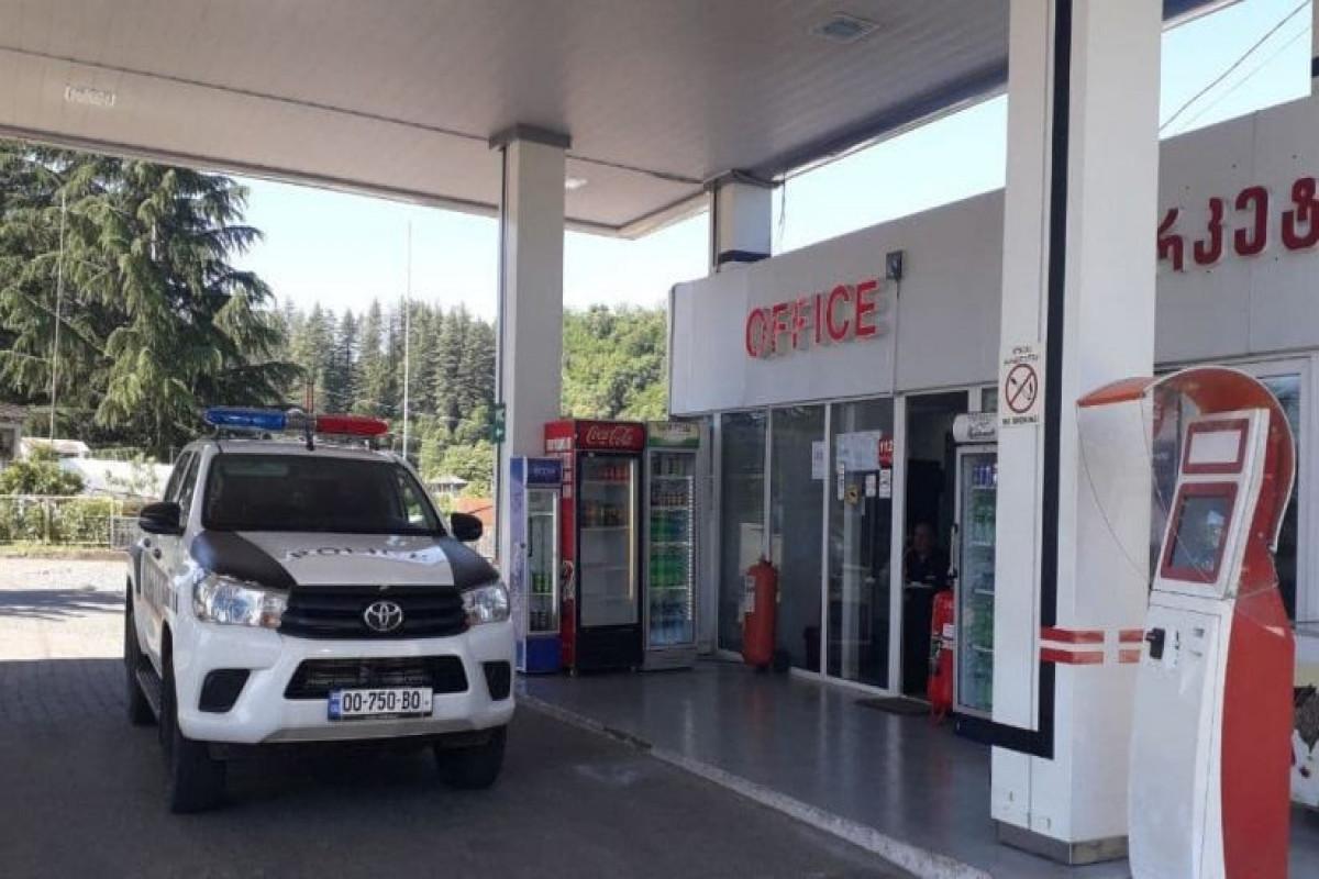 Gürcüstanda SOCAR-ın yanacaqdoldurma məntəqəsinə silahlı basqın olub